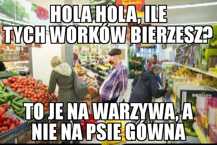 Czujny Janusz w biedrze xD