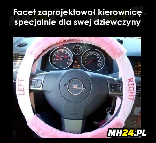 Facet zaprojektował kierownicę specjalnie dla swej dziewczyny