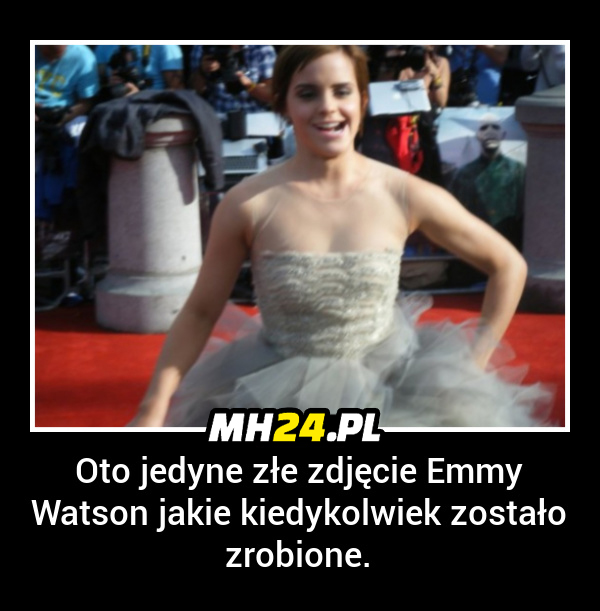 Jedyne złe zdjęcie Emmy Watson