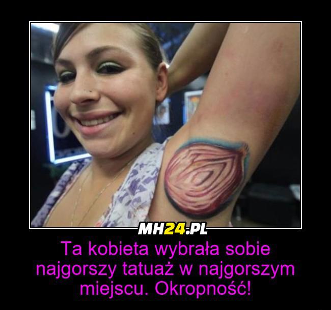 Najgorszy tatuaż w historii