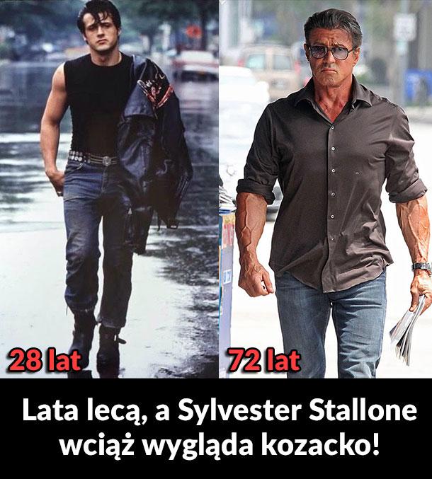Sylvester Stallone dobrze się trzyma