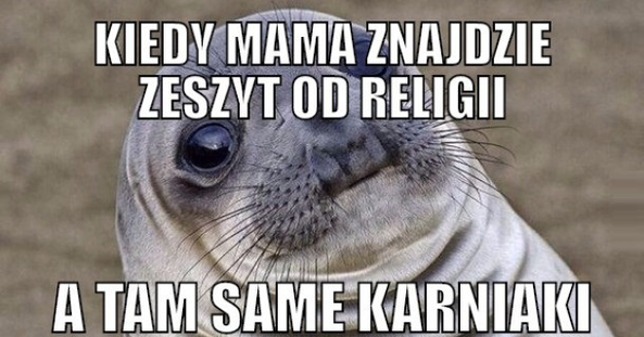 Zeszyt od religii