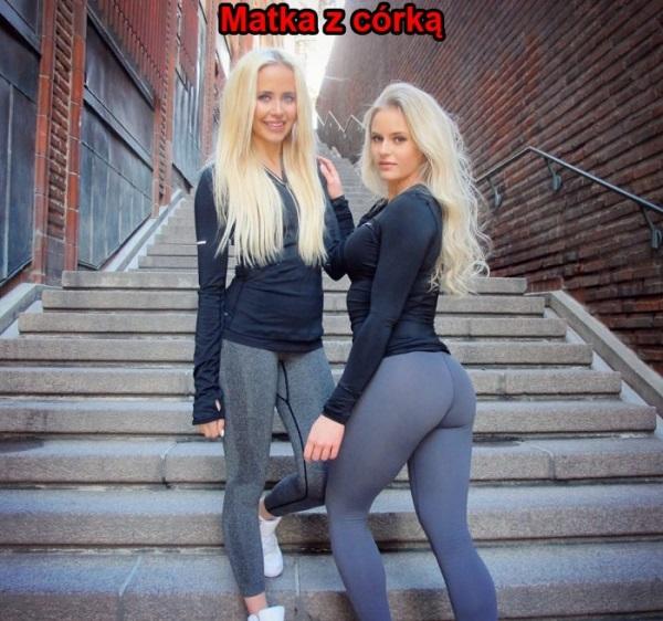 Zgadniesz która to matka a która córka