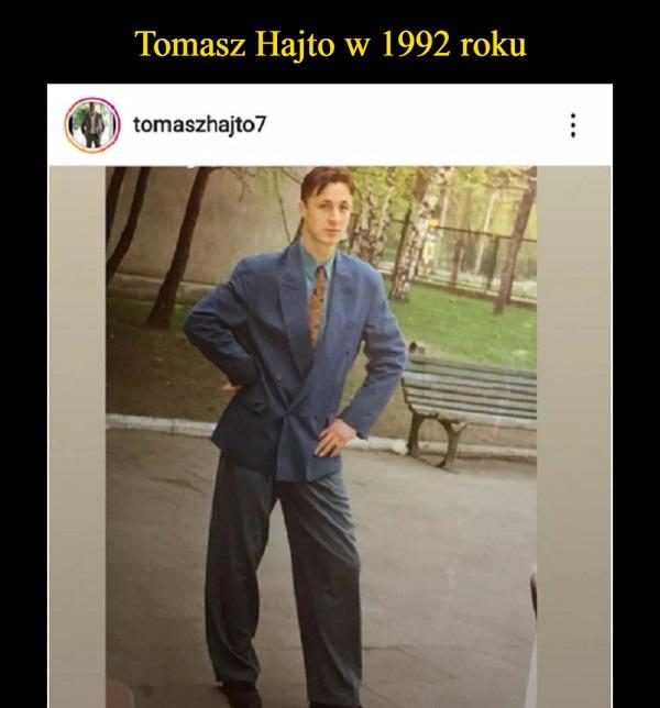 Tomasz Hajto w 1992 roku