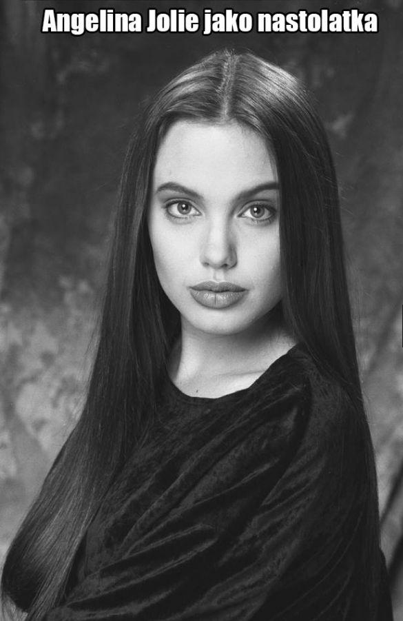 Angelina Jolie jako nastolatka