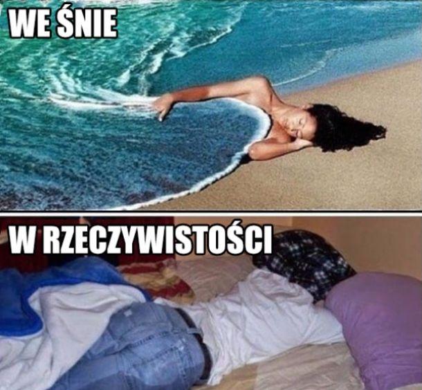 Kiedy śnisz o wodzie