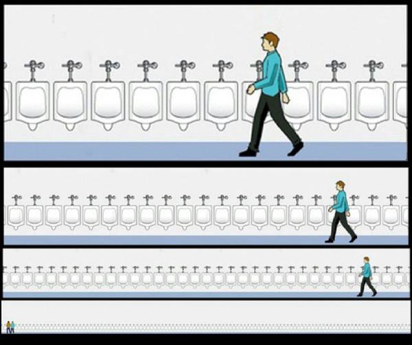 Najgorsza rzecz jaką można zrobić w męskiej toalecie