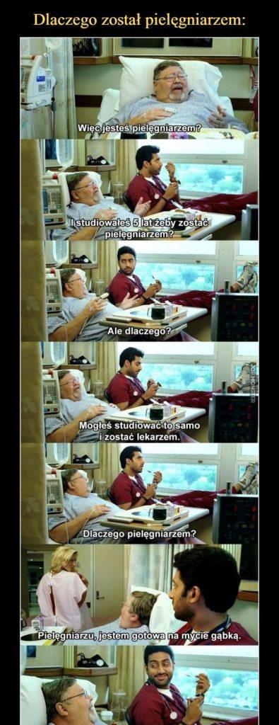 Oto dlaczego został pielęgniarzem D Ten to ma życie