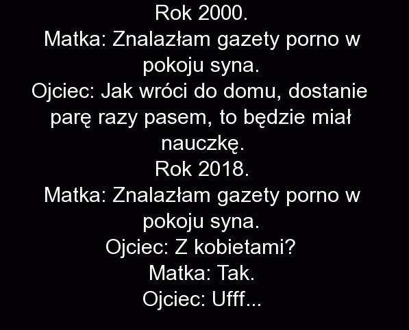wierszczyki w 2000 vs w 2018 xD