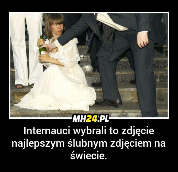 Najlepsze ślubne zdjęcie na świecie