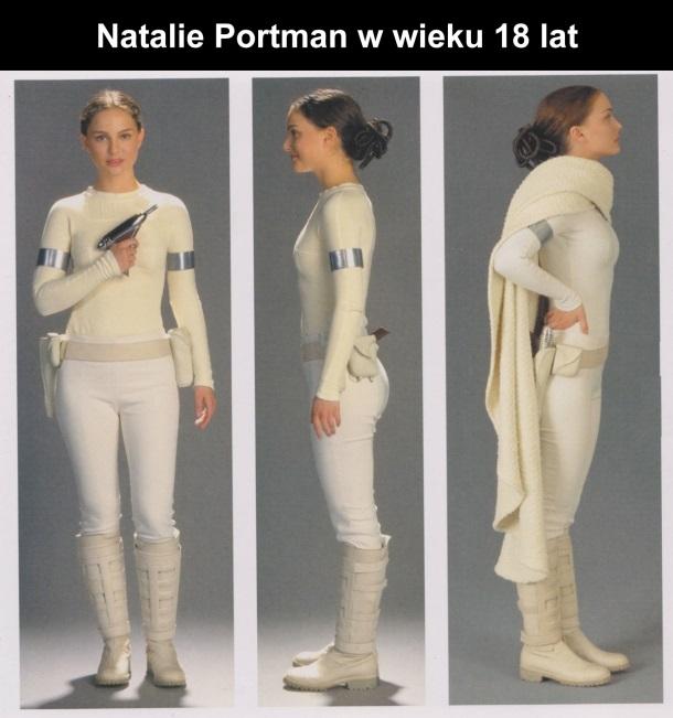 Natalie Portman w wieku 18 lat