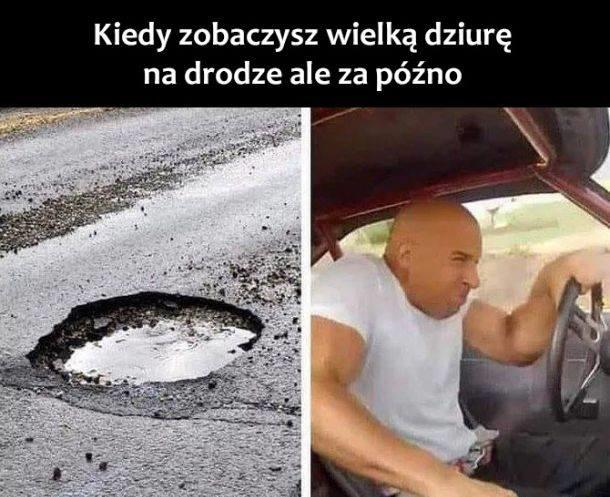 Kiedy zobaczysz wielką dziurę