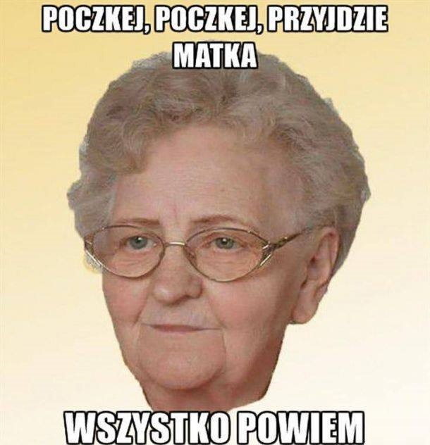 Typowa babcia D