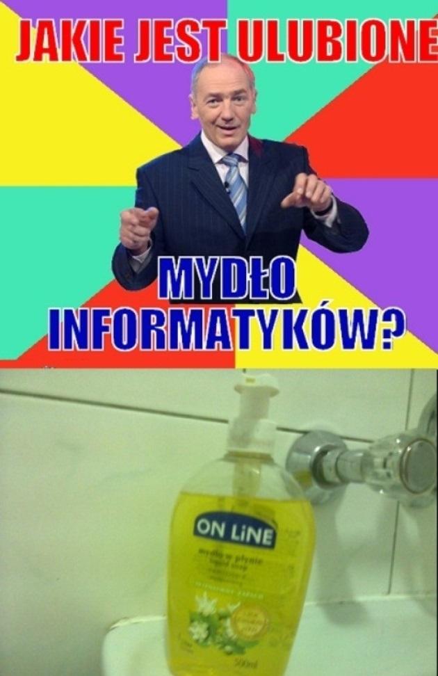 Ulubione mydło informatyków
