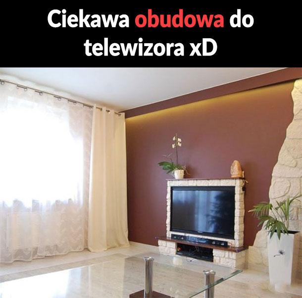 Ciekawa obudowa od TV