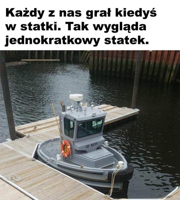 Jednokratkowy statek xD
