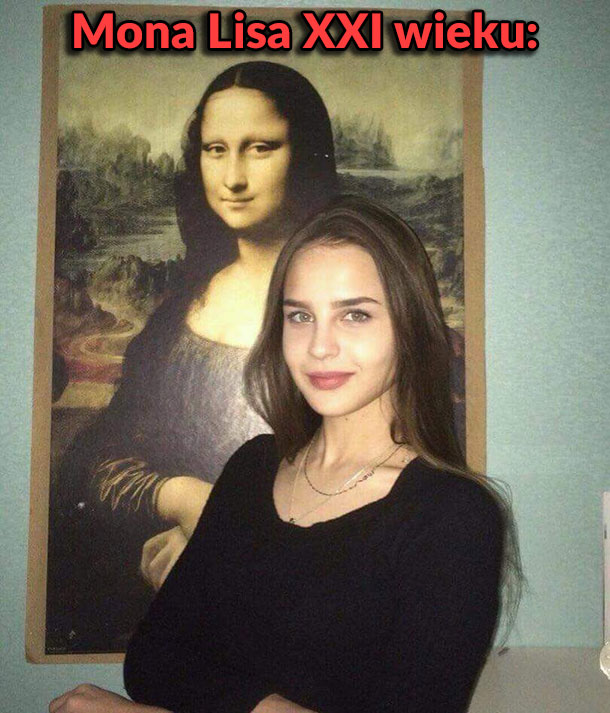 Mona Lisa XXI wieku