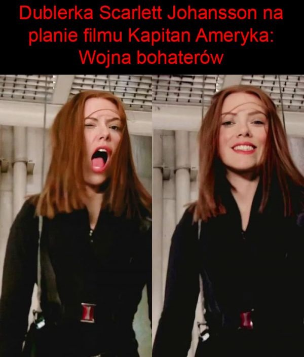 Dublerka Scarlett Johansson