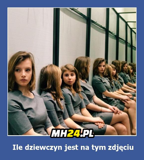 Ile dziewczyn jest na tym zdjęciu