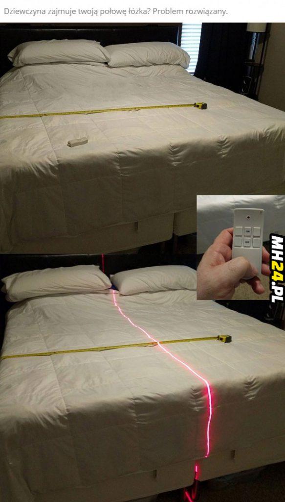 Jeśli masz dziewczynę która zajmuje twoją połowę łóżka to coś dla Ciebie