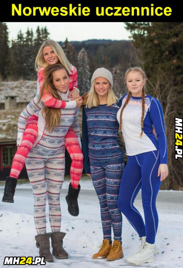 Norweskie dziewczyny