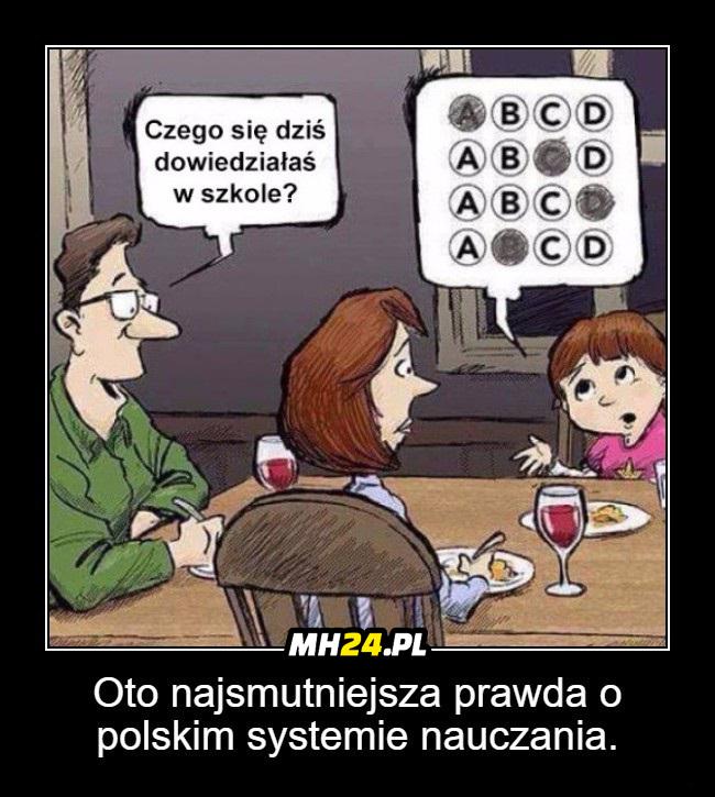 Oto najsmutniejsza prawda o polskim systemie nauczania