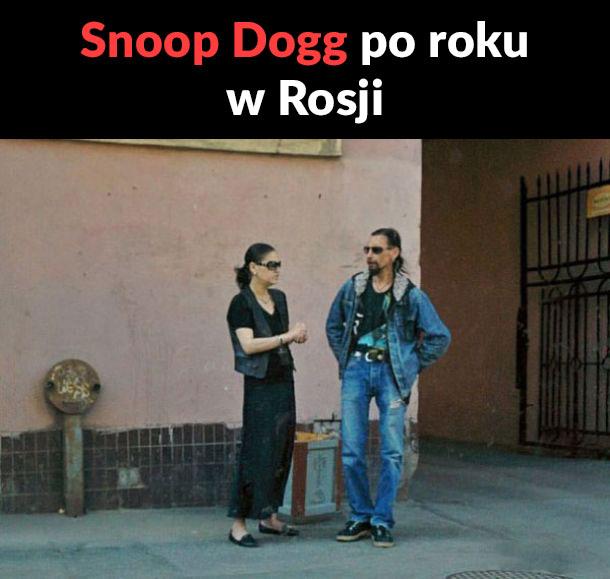 Snoop Dogg po roku w Rosji