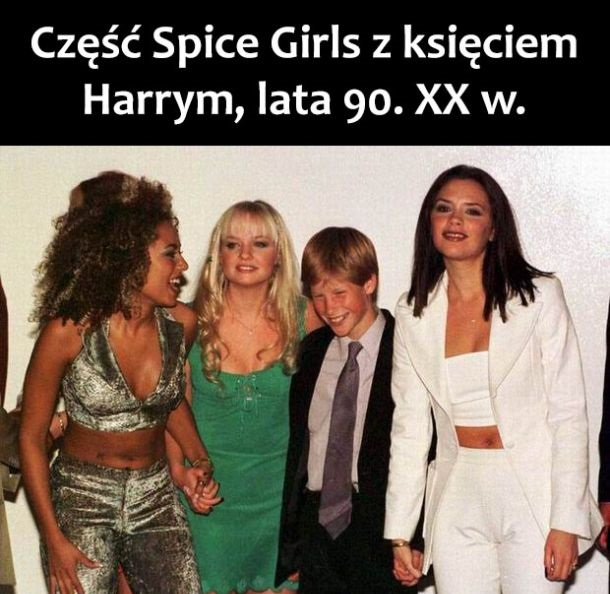 Spice Girls i książe Harry