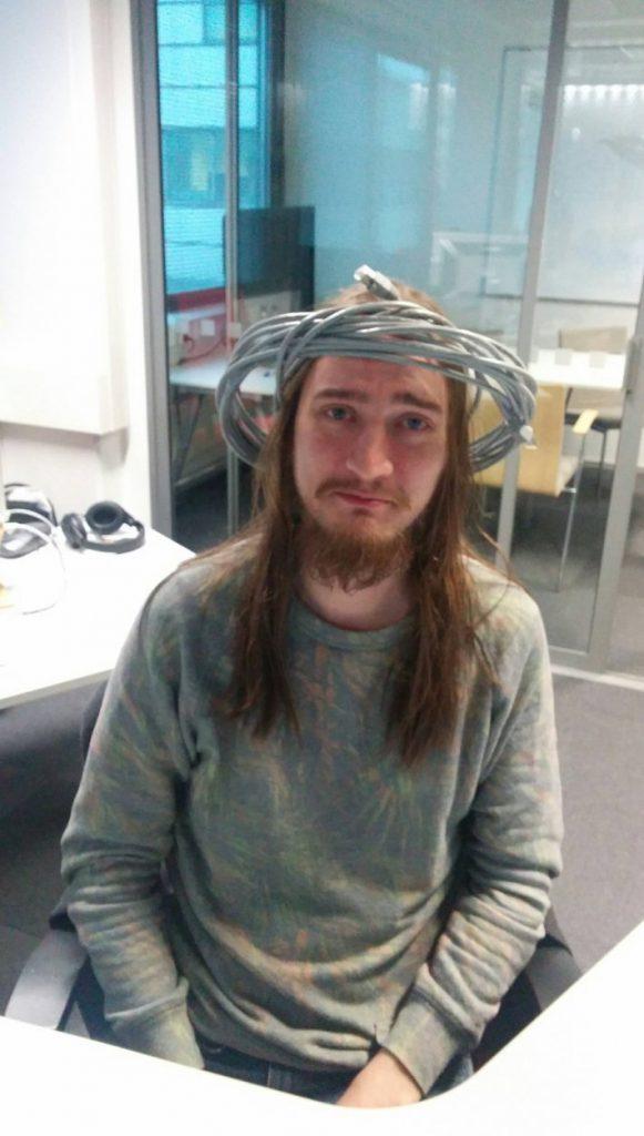 Tak wygląda Jezus po studiach informatyki xD