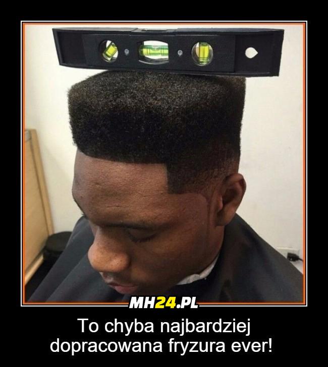 To chyba najbardziej dopracowana fryzura ever